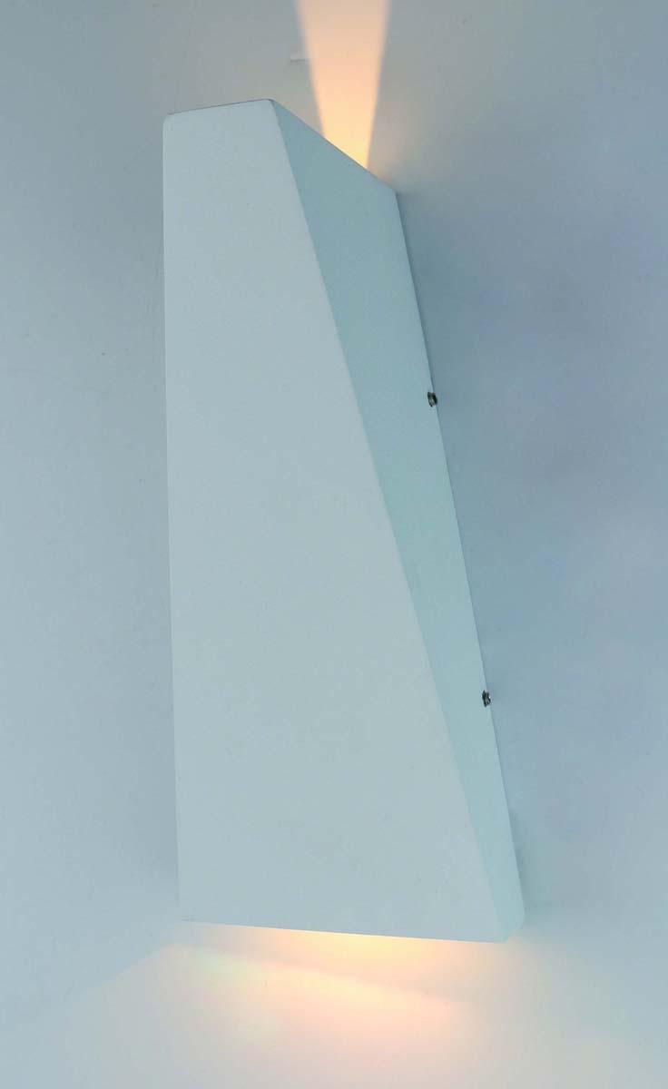 Светильник уличный Arte Lamp Cometa, цвет: белый, 1 х LED, 6 W. A1524AL-1WH уличный настенный светодиодный светильник arte lamp cometa a1524al 1wh