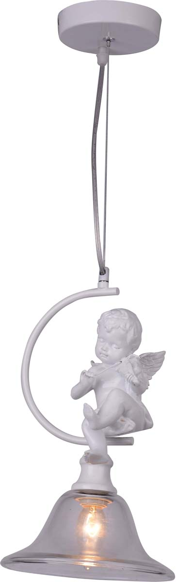 Светильник подвесной Arte Lamp Amur, 1 х E27, 40 W. A4288SP-1WHA4288SP-1WH