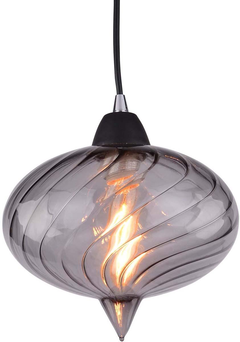 Светильник подвесной Arte Lamp Emozione, цвет: черный, серый, 1 х E27, 40 W. A7171SP-1SMA7171SP-1SM