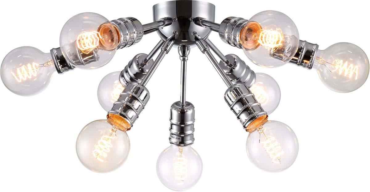 Светильник потолочный Arte Lamp Fuoco, 9 х E27, 60 W. A9265PL-9CCA9265PL-9CC