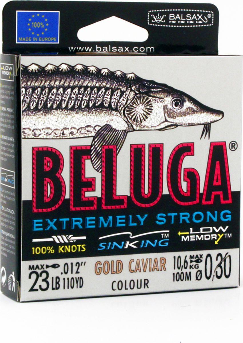 Леска Balsax Beluga, 100 м, 0,30 мм, 10,6 кг