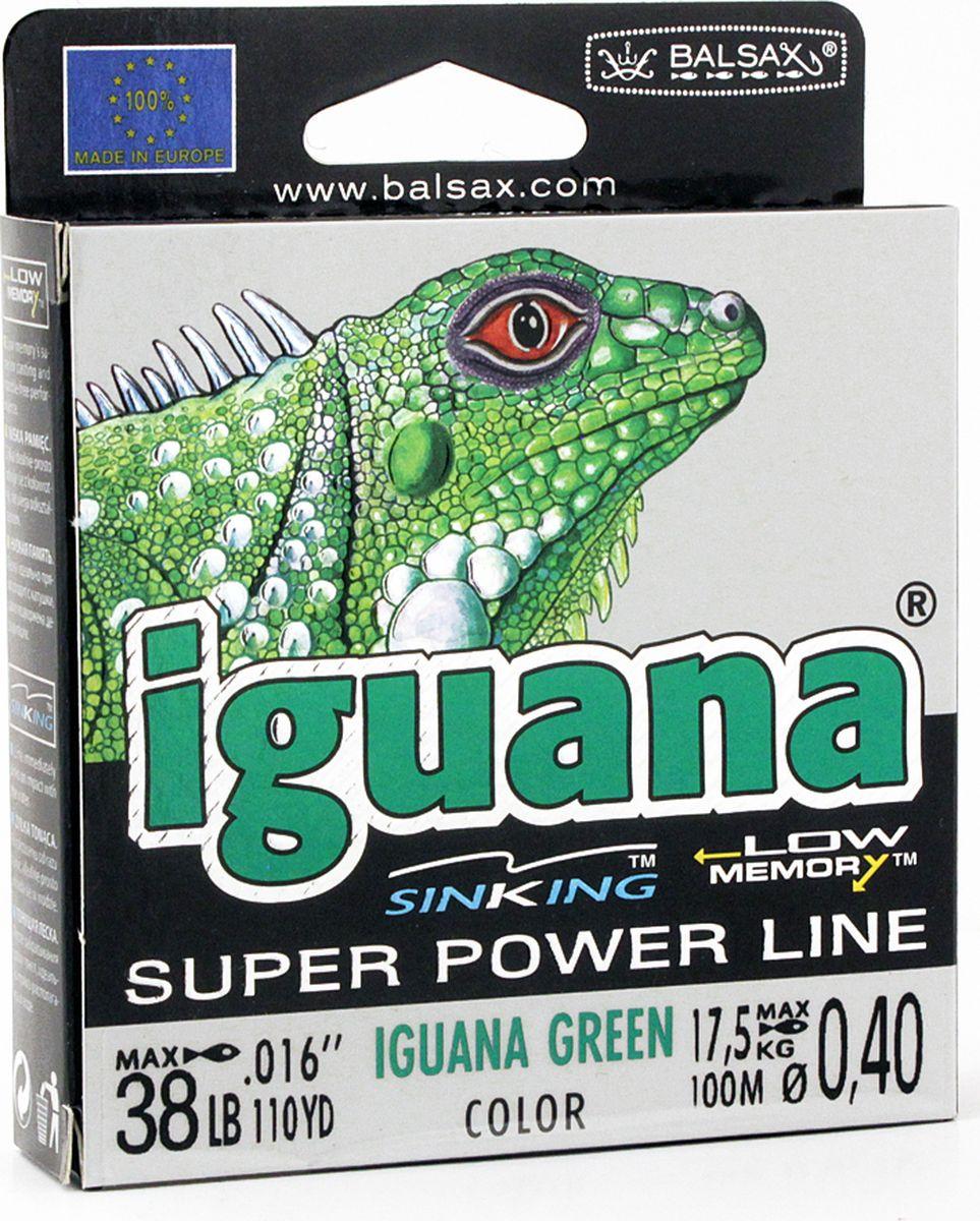 Леска Balsax Iguana, 100 м, 0,40 мм, 17,5 кг
