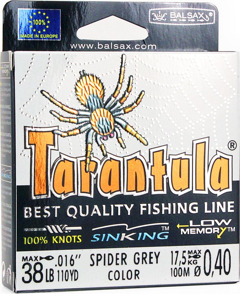 Леска Balsax Tarantula, 100 м, 0,40 мм, 17,5 кг