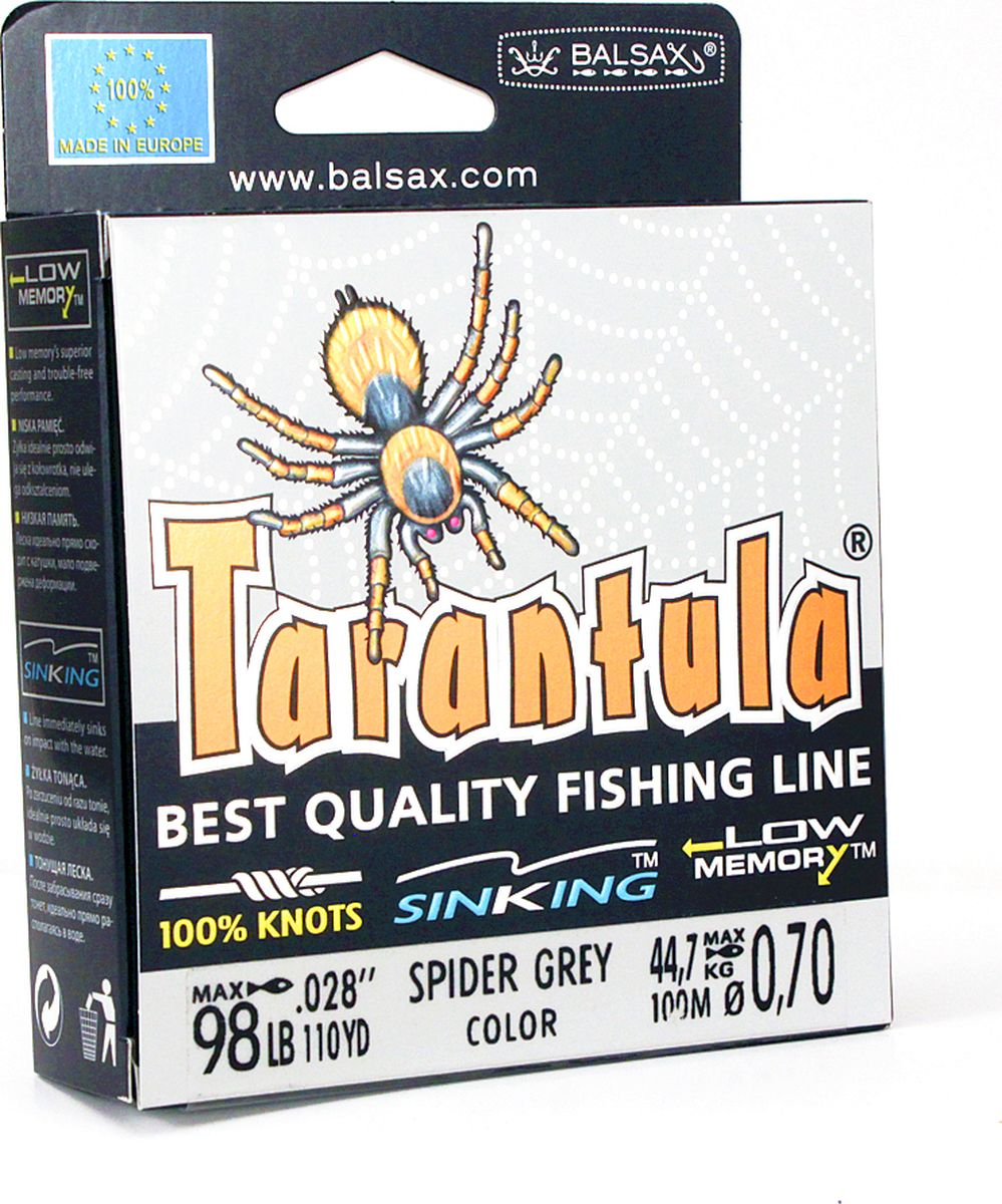 Леска Balsax Tarantula, 100 м, 0,70 мм, 44,7 кг
