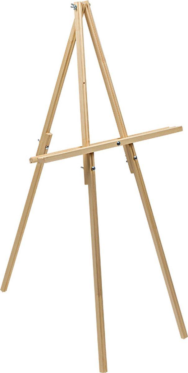 Vista-Artista Мольберт напольный VES-05VES-05Основное предназначение: демонстрация художественных работ или иных материалов. В разобранном виде мольберт представляет собой комплект из 8 планок и нескольких винтов, занимает минимум места. Может использоваться для выполнения художественных работ. Габаритные размеры в рабочем состоянии: 1200 х500 х 450 мм Рекомендуем!