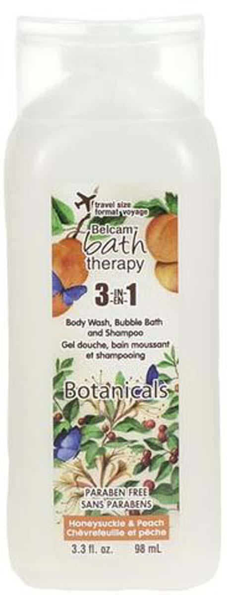 Bath Therapy Мини 3-в-1 Шампунь, гель для душа, пена для ванны