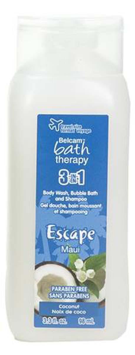 Bath TherapyМини 3-в-1 Шампунь, гель для душа, пена для ванны
