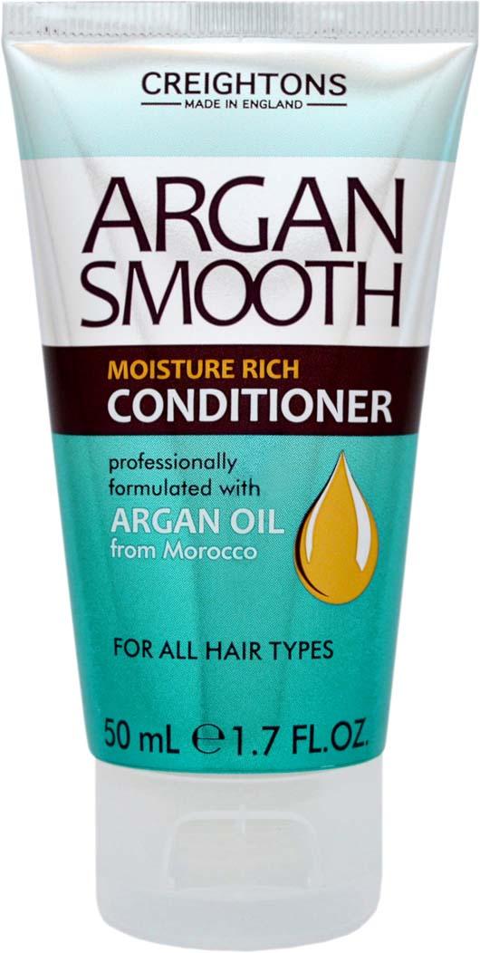 Creightons Мини-кондиционер для глубокого увлажнения волос с аргановым маслом, 50 мл creightons дуо набор глубокое увлажнение волос с аргановым маслом шампунь кондиционер