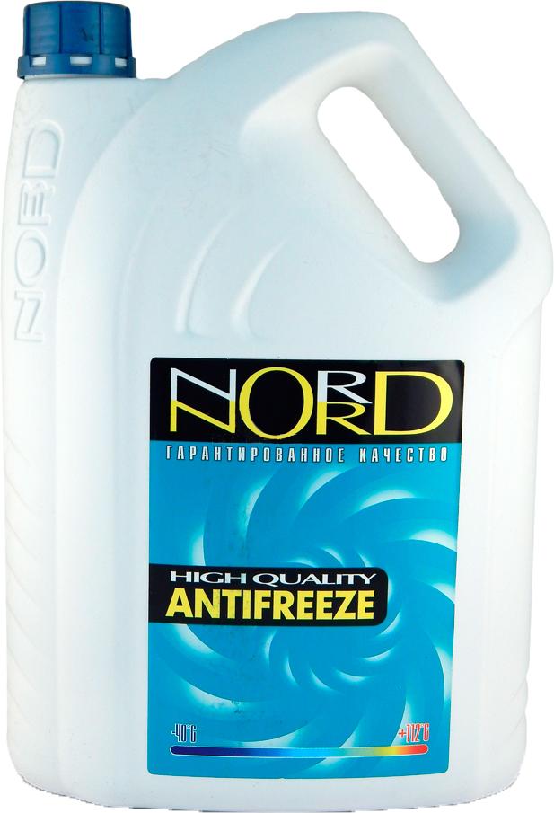 """Антифриз """"Nord"""", цвет: сине-зеленый, 5 л"""