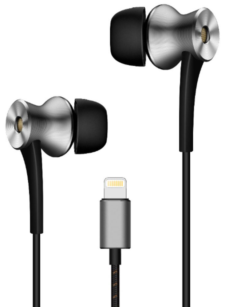 1MORE E1004 Dual-Driver LTNG ANC, Grey наушники наушники 1more stylish dual dynamic in ear e1025 black
