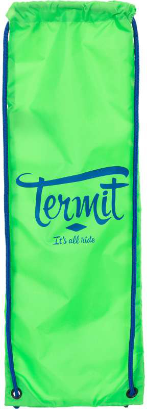 "Сумка для скейтборда ""Termit"", цвет: зеленый, синий"