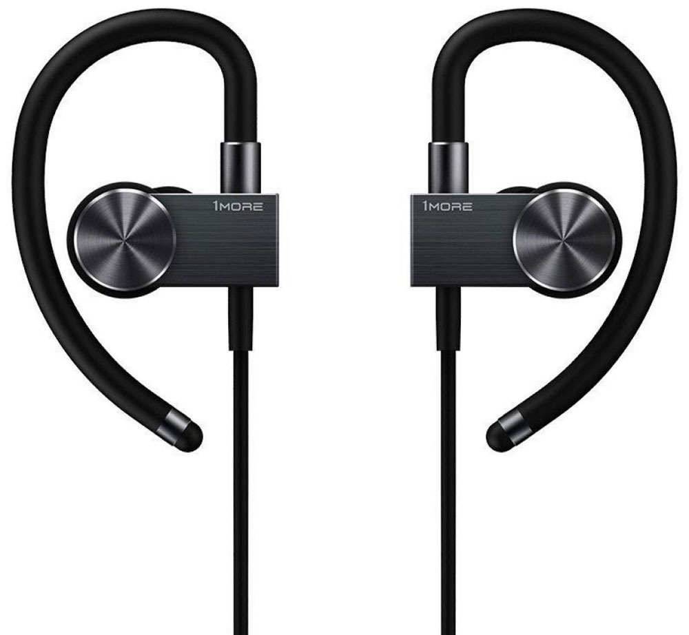 Беспроводные наушники 1MORE EB100 Bluetooth In-Ear Sports Active Headphone, Black наушники 1more stylish dual dynamic in ear e1025 black