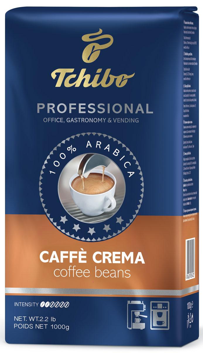 Tchibo Professional Caffe Crema кофе в зернах, 1 кг кофе tchibo кофе в зернах davidoff cafe crema 500 g