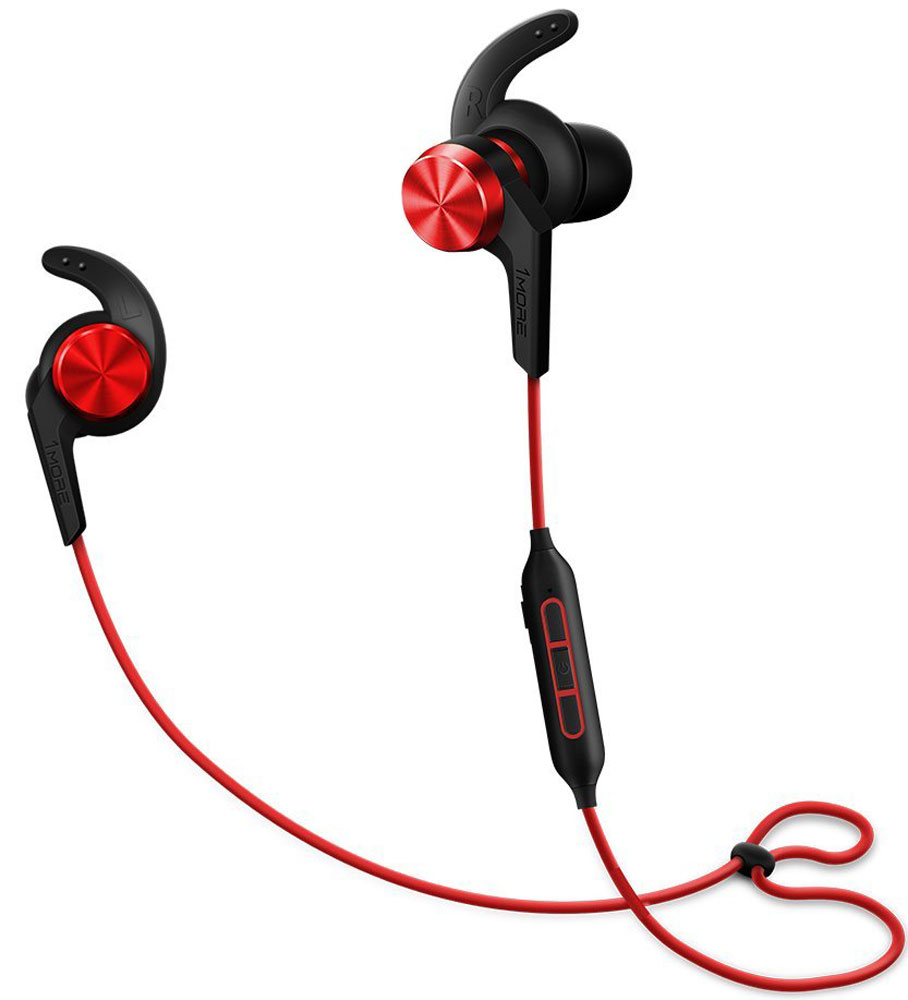 Беспроводные наушники 1MORE iBFree Е1018 Bluetooth Earphones, Red 1more ibfree bluetooth гарнитура спортивные наушники