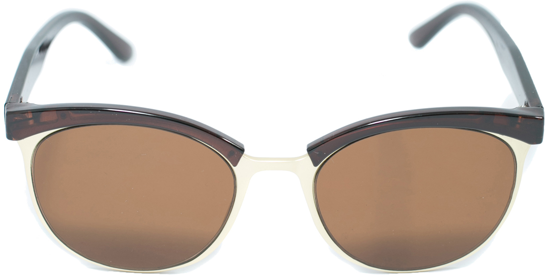 Очки солнцезащитные женские Mitya Veselkov, цвет: коричневый, песочный. OS2903-105 все цены