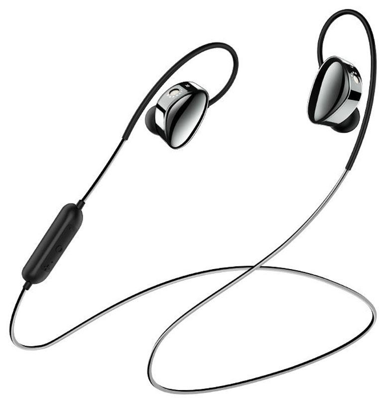 Borofone BE14 Bluetooth, Black беспроводные наушники