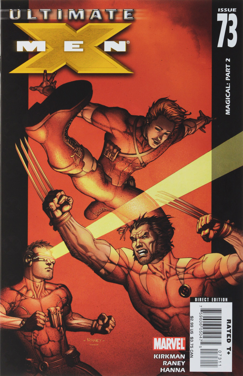 Robert Kirkman, Gina Going-Raney, Scott Hanna Ultimate X-Men #73 robert falcon scott last expedition volume 2