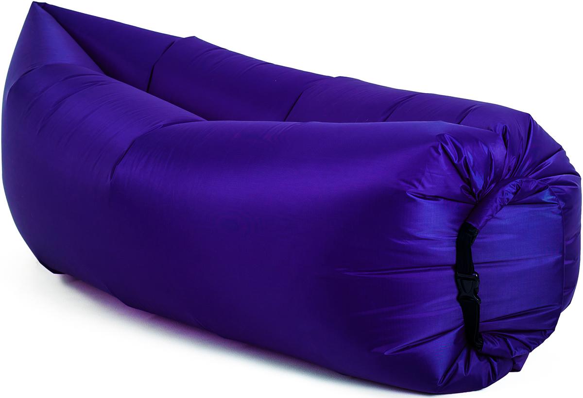Диван надувной Биван Классический, цвет: фиолетовый