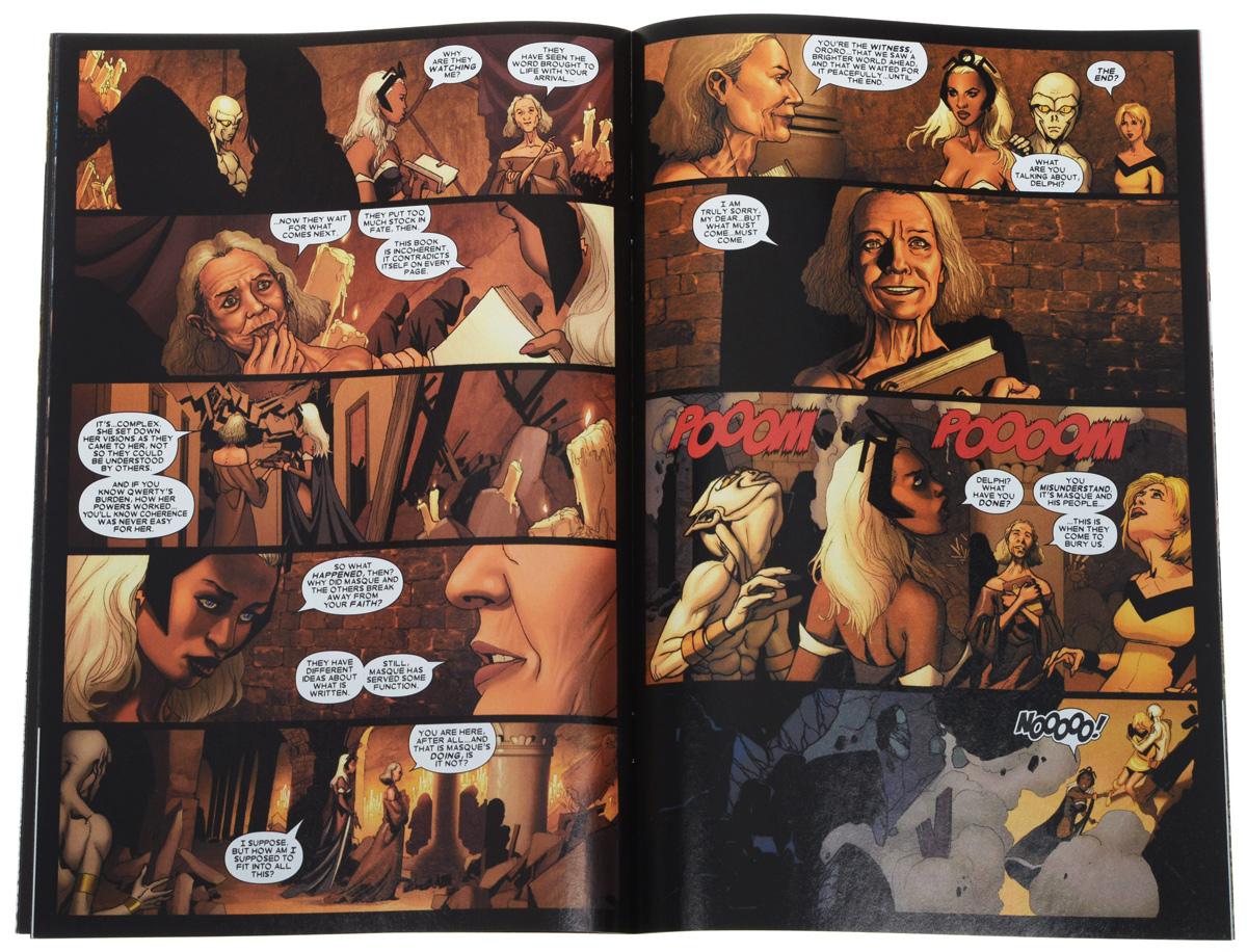The Uncanny X-Men #490 Автор: Ed Brubaker, Salvador Larroca...