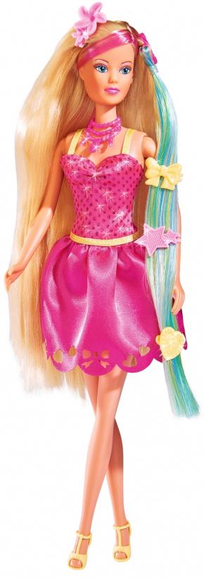 все цены на Simba Кукла Штеффи Стильные волосы онлайн
