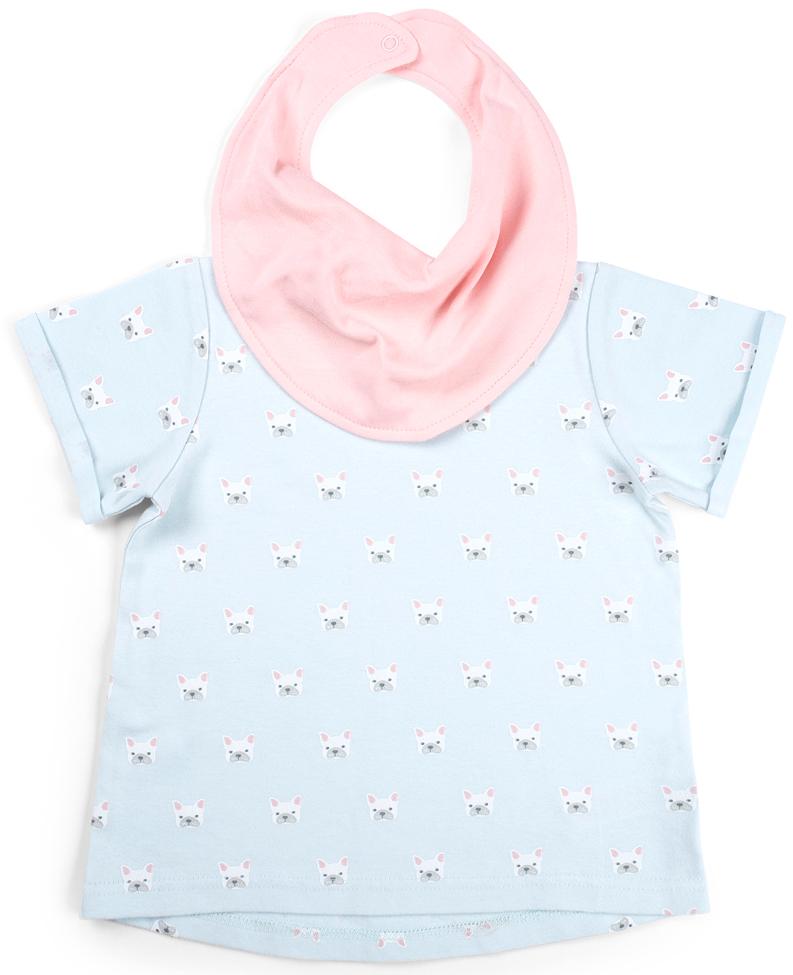 Комплект одежды Happy Baby нагрудник на липучке happy baby 16009 pink