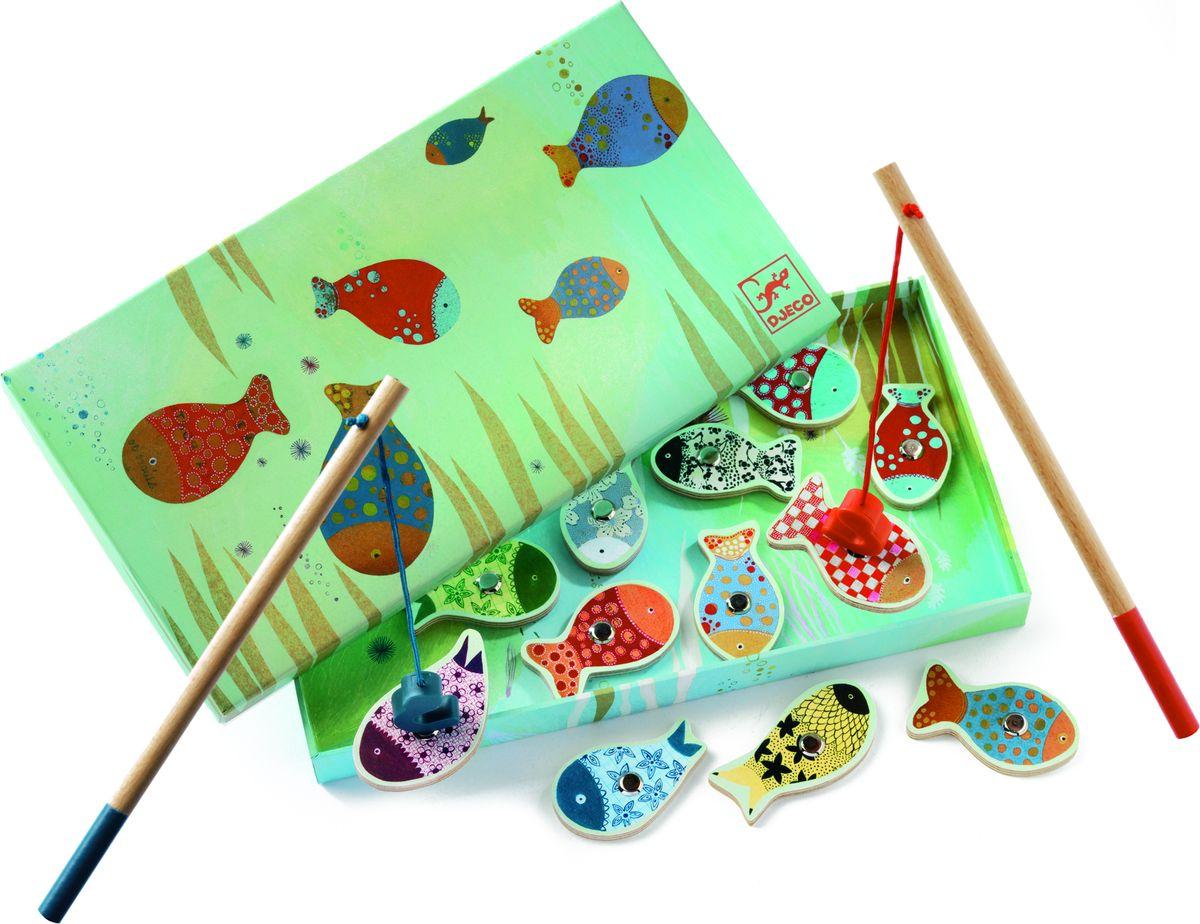 Djeco Обучающая игра рыбалка Мечты djeco обучающая игра счеты
