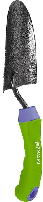 Совок посадочный Palisad, узкий, защитное покрытие, обрезиненная эргономичная рукоятка совок садовый palisad узкий защитное покрытие пластиковая рукоятка