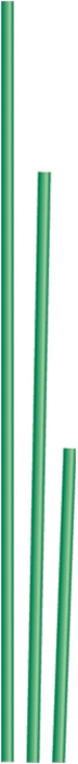 Колышек садовый, 1 метр, диаметр трубы 10 мм64473Опора прямая, предназначена для поддержки высоких и гибких растений или цветов, не позволяется им перегибаться и ломаться. Выполнена из стали Ст3 в виде трубки, для защиты от коррозии покрытой ПВХ-оболочкой.