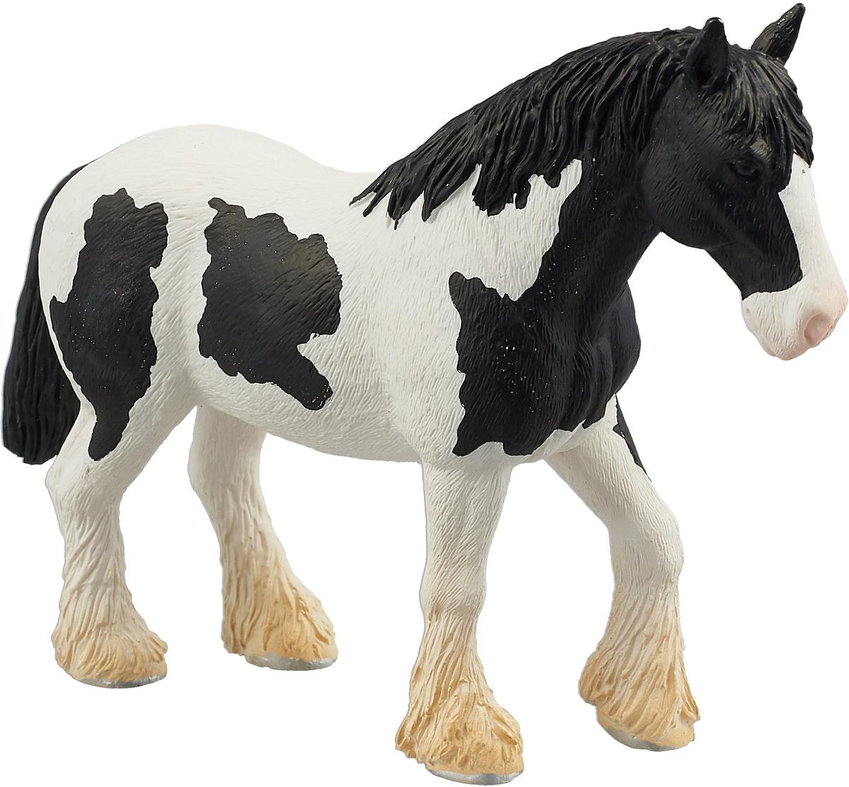 Mojo Фигурка Лошадь клейдесдальской породы цвет белый цена