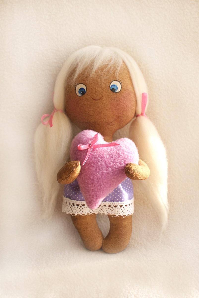 Набор для изготовления игрушки Ваниль Angel's Story, высота 21 см. 007 рубашка женская oodji collection цвет бирюза оранжевый 21402212 14885 7355e размер 40 170 46 170