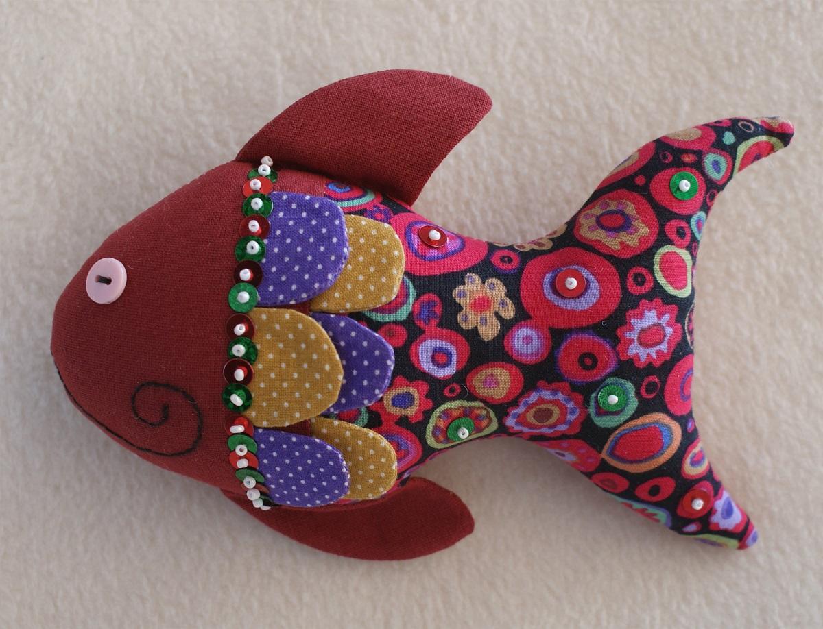 """Набор для изготовления игрушки Ваниль """"Fish Story. Рыбка"""". FS001"""