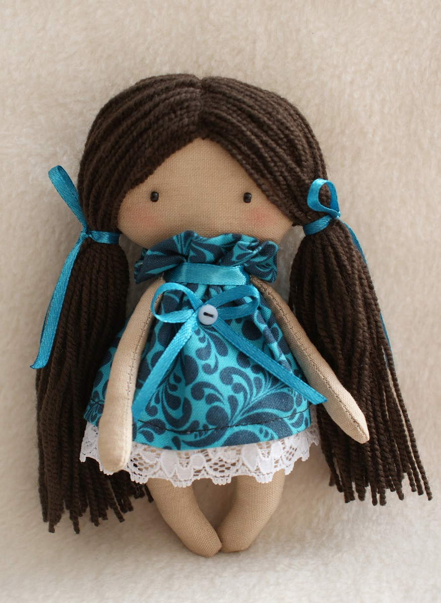 Набор для изготовления текстильной игрушки Happy Hands Кристина, высота 15 см набор для изготовления текстильной игрушки bear s story высота 23 см 544503