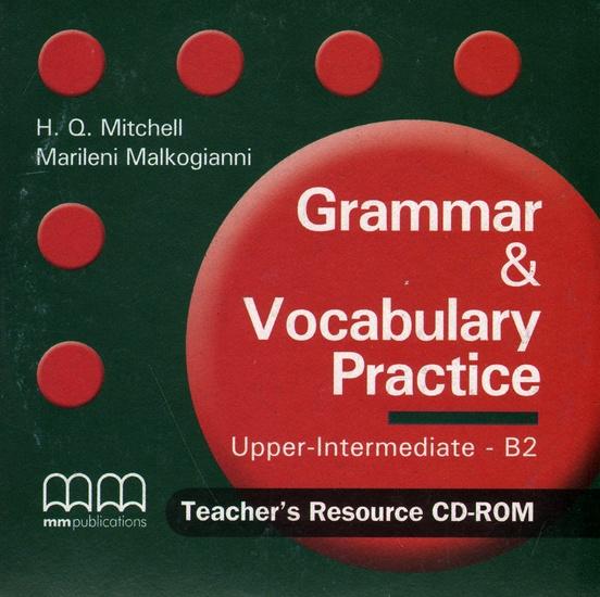 Фото - Grammar & Vocabulary Practice: Upper Intermediate B2: Teacher's Resource CD-ROM smart grammar and vocabulary 3