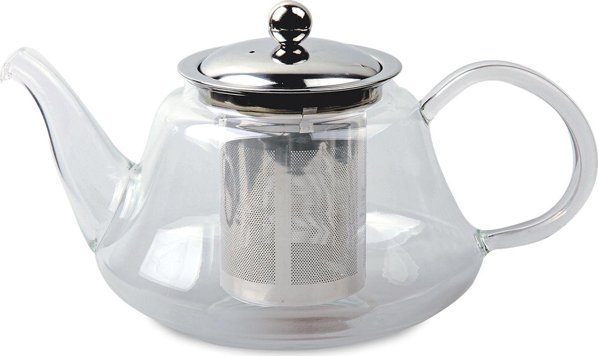 Чайник заварочный TimA Мелисса, с фильтром, 1,2 л заварочный чайник tima tl 100