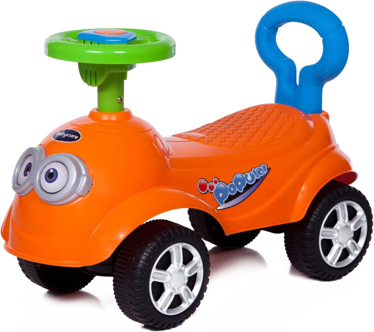 Baby Care Каталка детская QT Racer цвет оранжевый