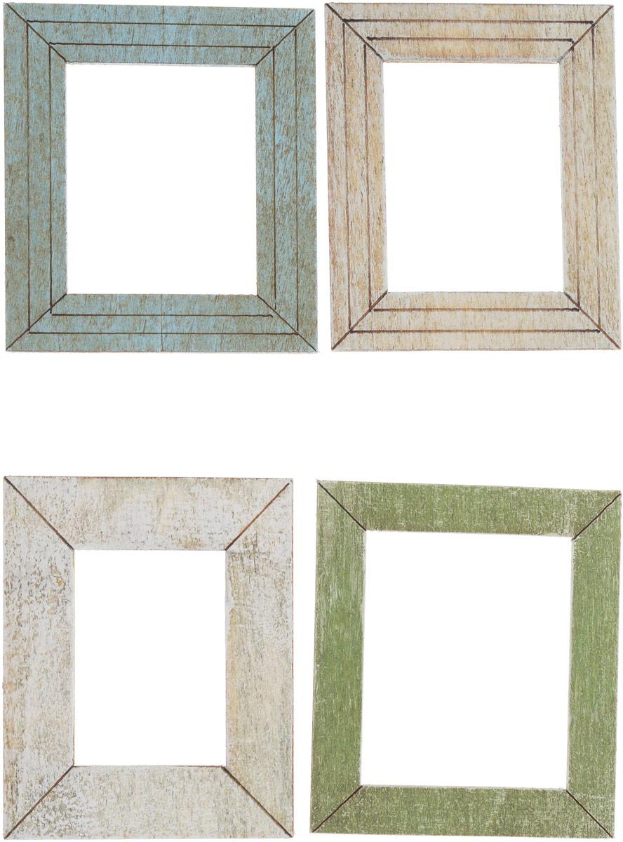 Украшение декоративное Рукоделие Деревянные рамы. 8208 украшение для стен и предметов интерьера decoretto а вот и мы двустороннее
