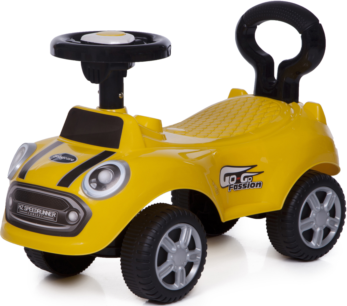 цена Baby Care Каталка детская Speedrunner цвет желтый онлайн в 2017 году