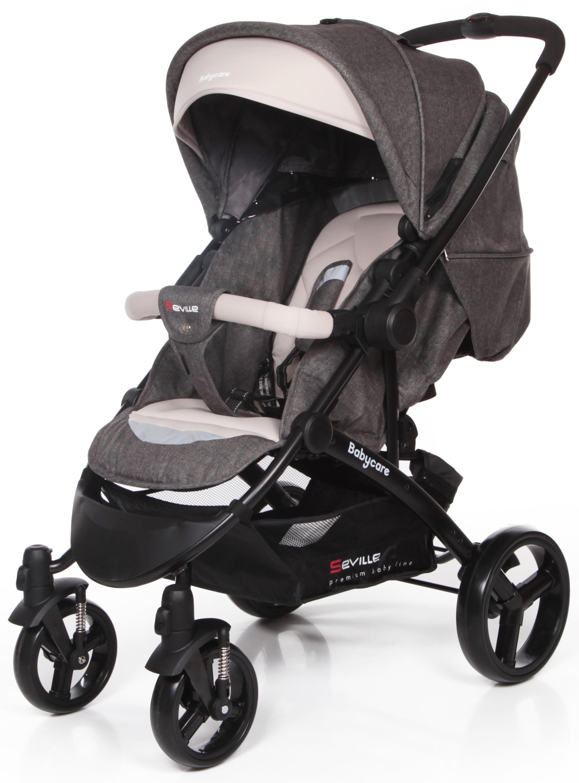 Baby Care Коляска прогулочная Seville цвет серый