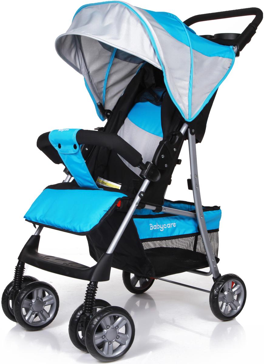 Baby Care Коляска прогулочная Shopper цвет светло-синий