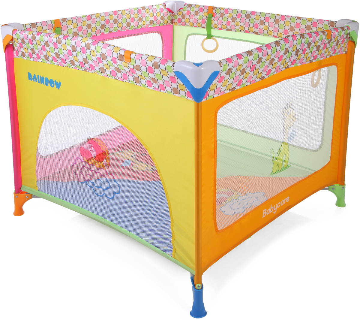 Baby Care Манеж Rainbow цвет разноцветный манеж baby care rainbow p02 f