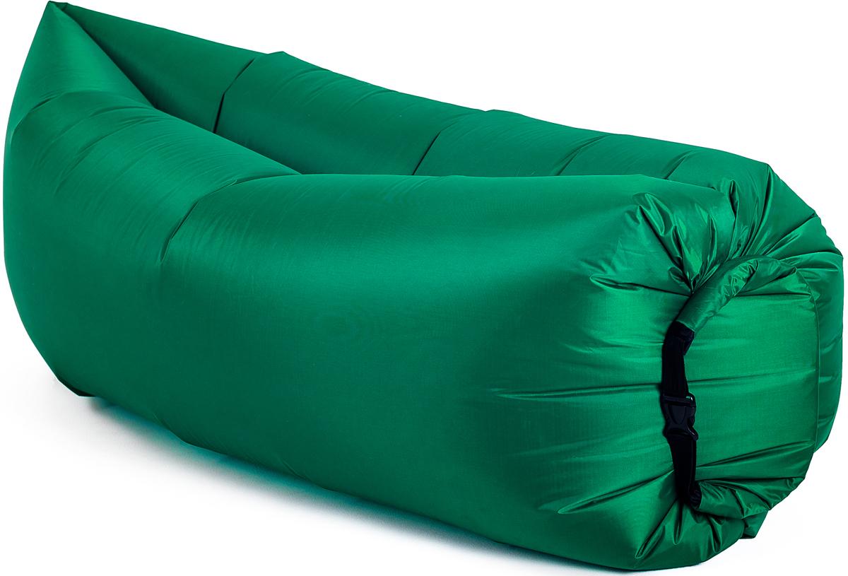 Диван надувной Биван Классический, цвет: зеленый