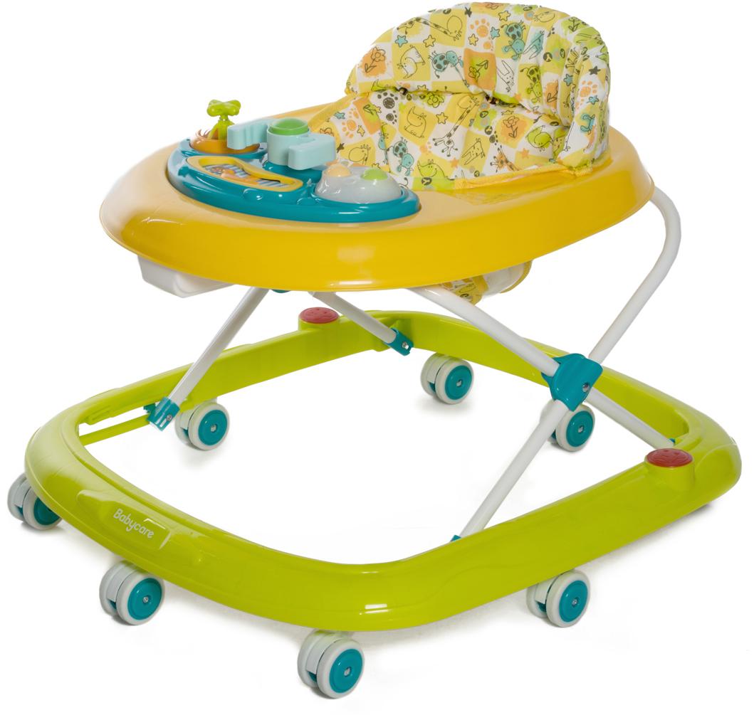 Baby Care Ходунки Corsa цвет желтый