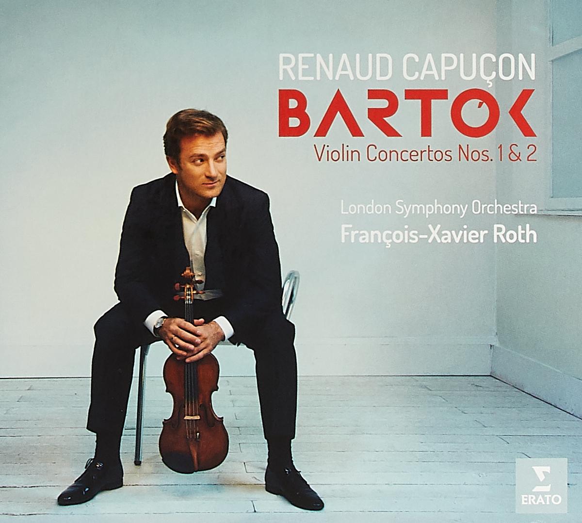 лучшая цена Бела Барток Bela Bartok. Violin Concertos Nos. 1 & 2