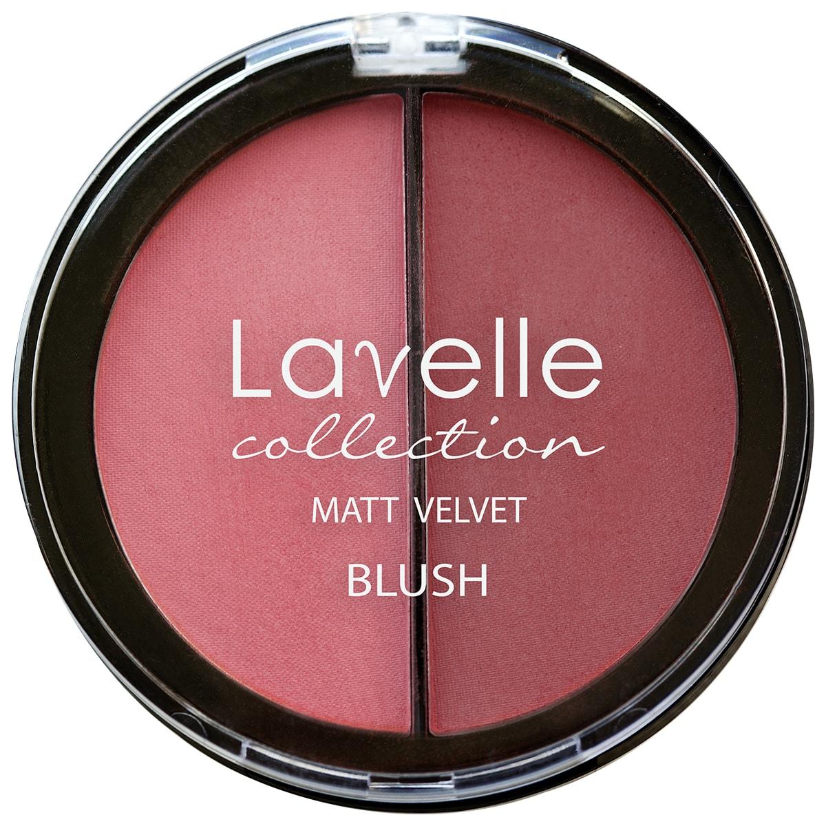 Lavelle Collection румяна для лица BL-09 2-цветные компактные тон 01 розовый 34,5г