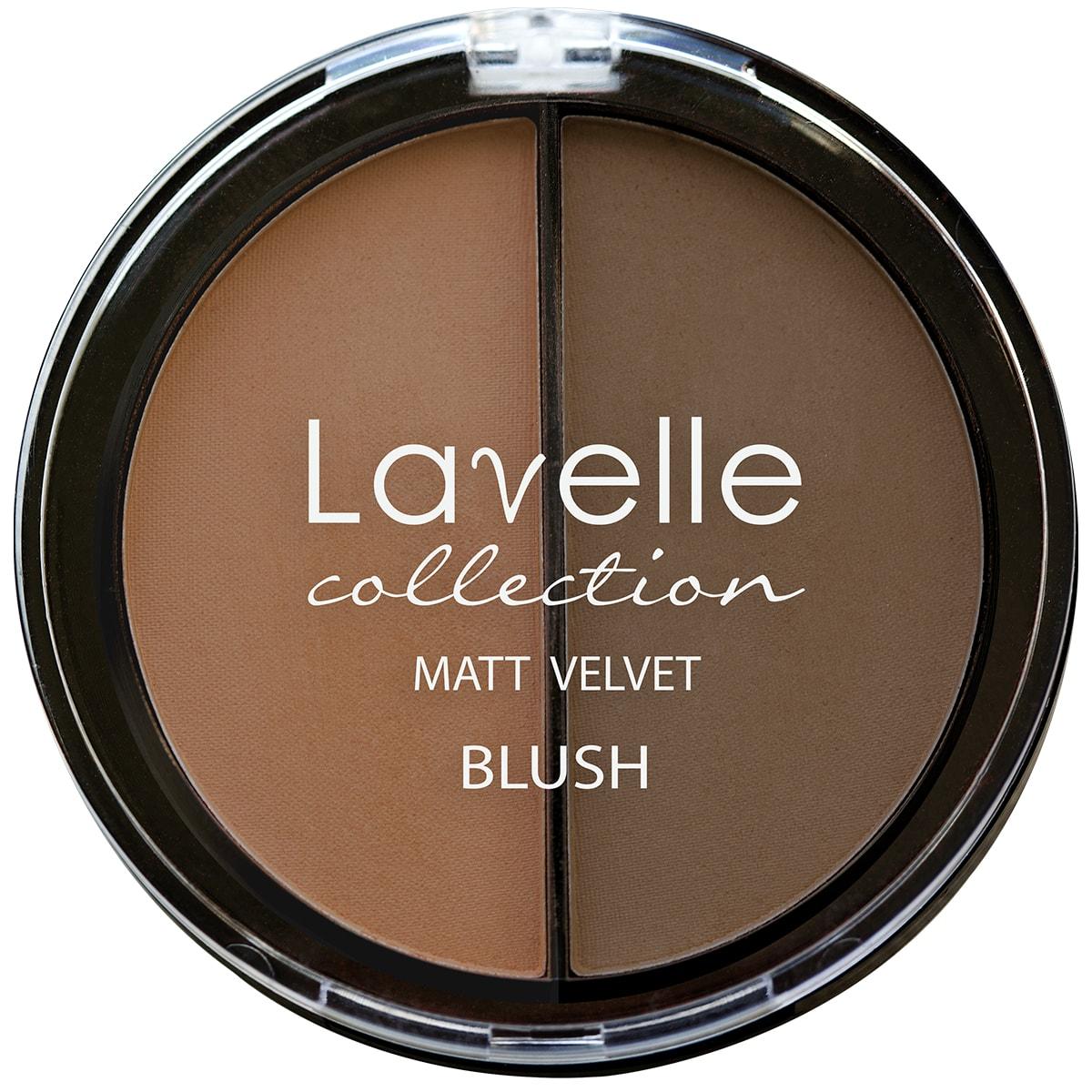 Lavelle Collection румяна для лица BL-09 2-цветные компактные тон 02 загар 34,5г