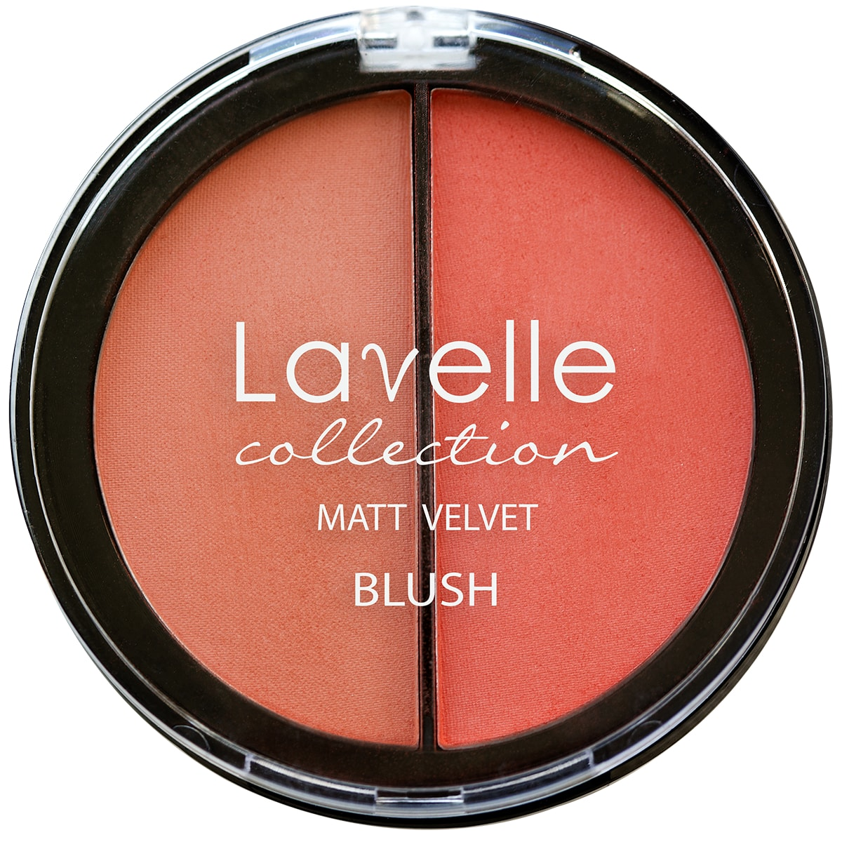 Lavelle Collection румяна для лица BL-09 2-цветные компактные тон 03 персик 34,5г
