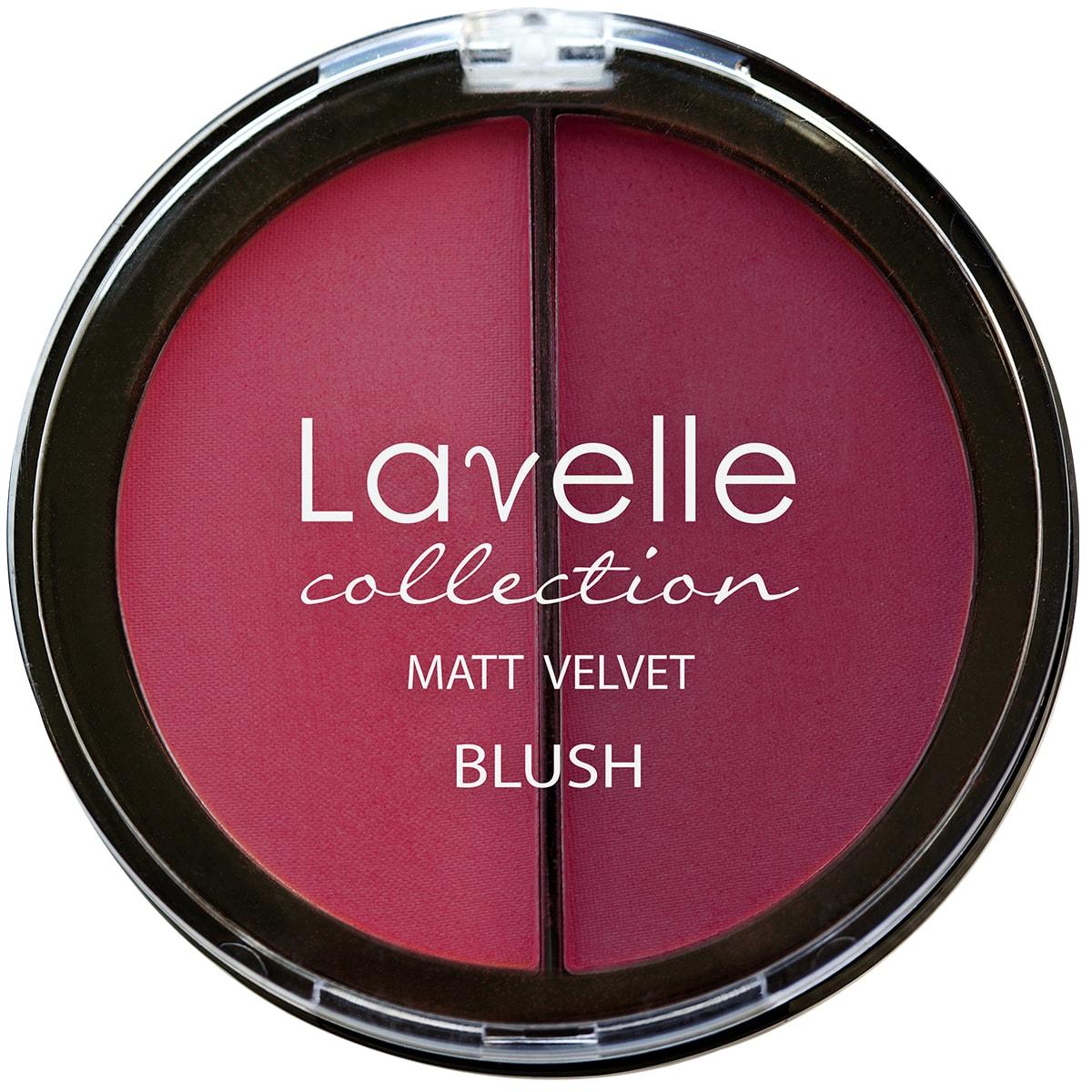 Lavelle Collection румяна для лица BL-09 2-цветные компактные тон 04 ягодный 34,5г