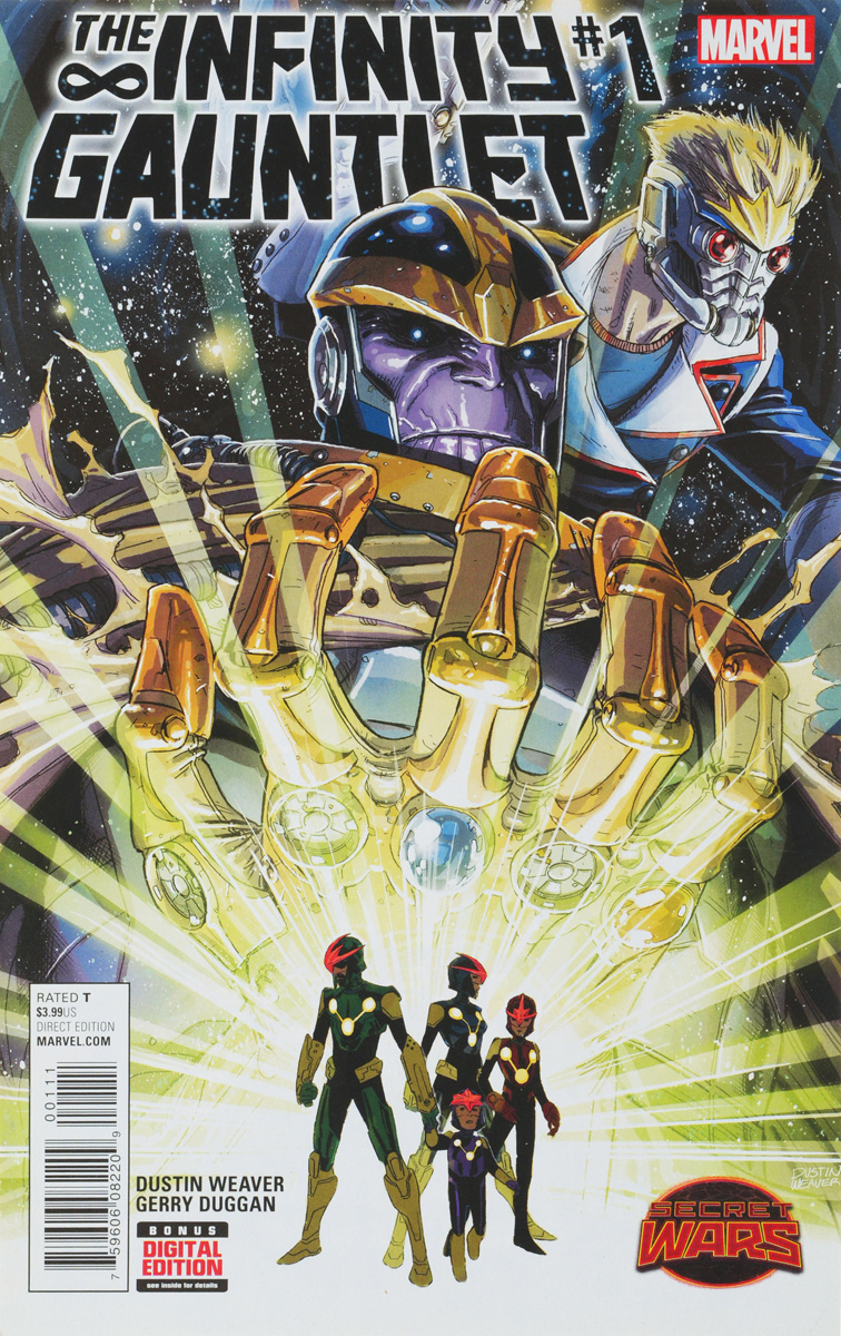 Weaver D., Duggan G. The Infinity Gauntlet #1