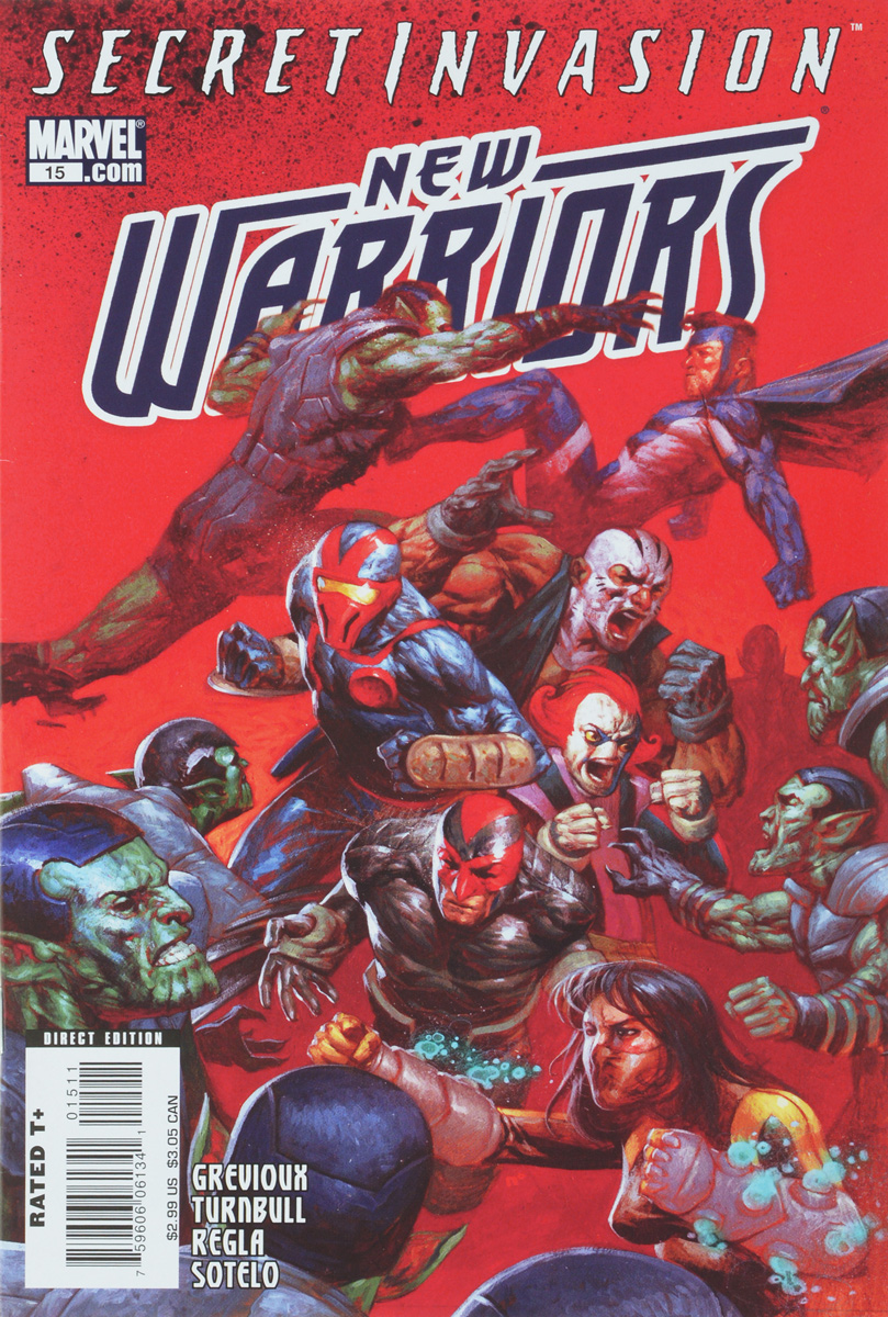 Kevin Grevioux, Koi (Coy) Turnbull, Sal Regla New Warriors #15