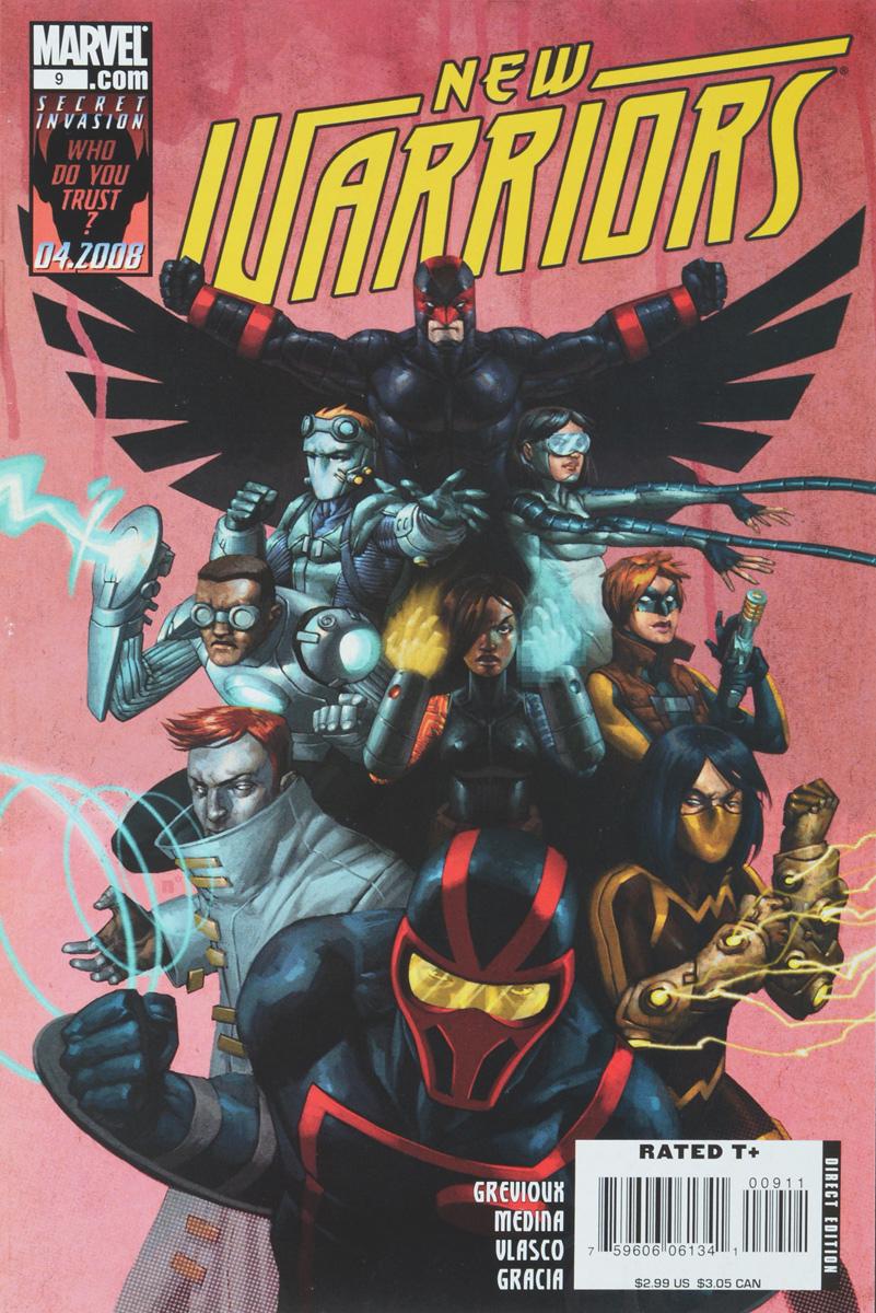 Kevin Grevioux, Juan Vlasco New Warriors #9 secret warriors volume 6